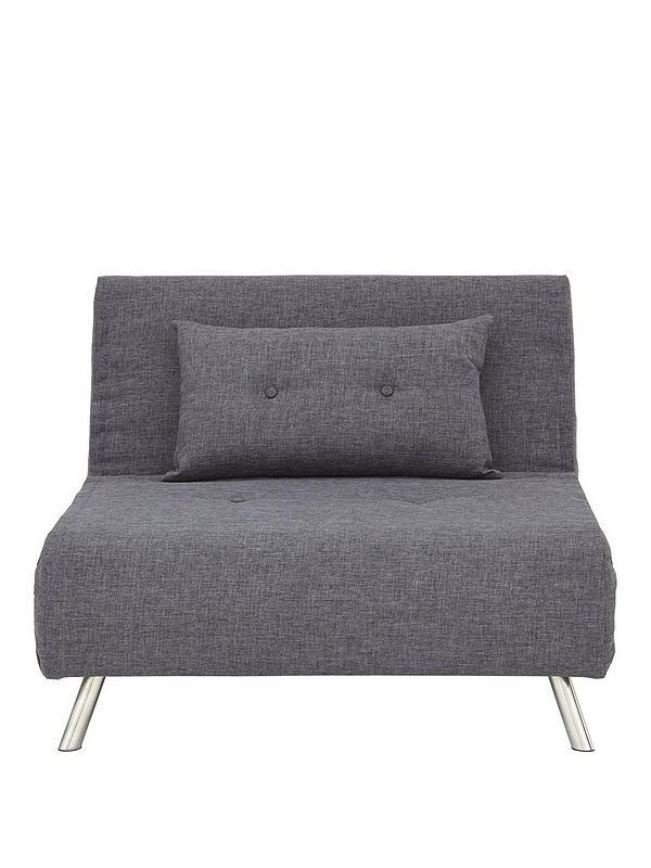Miraculous Rafael Single Fabric Sofa Bed Beutiful Home Inspiration Aditmahrainfo