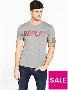 replay-large-logo-tshirt