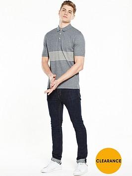 selected-homme-stripe-short-sleeve-polo