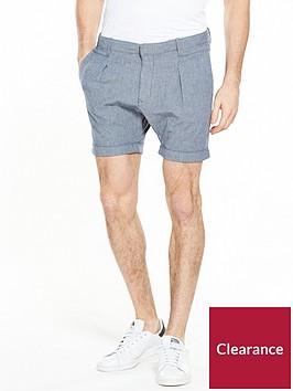 selected-homme-turn-up-hem-shorts