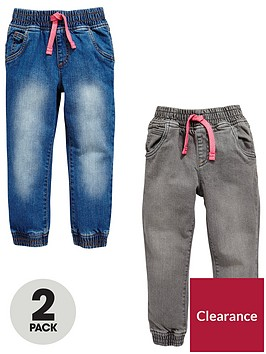 mini-v-by-very-girls-2-pack-grey-amp-denim-wash-jeans