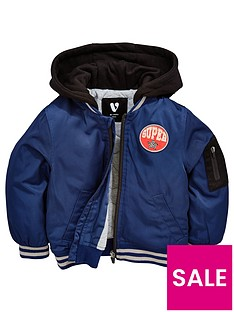 mini-v-by-very-boys-hooded-navy-bomber-jacket