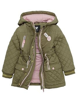 mini-v-by-very-girls-khaki-badged-quilted-parka