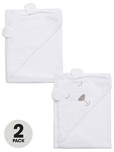 ladybird-baby-hooded-unisex-2pack-bear-towels