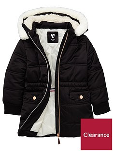 mini-v-by-very-girls-longline-padded-coat-with-faux-fur-trim