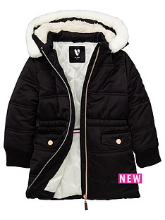 mini-v-by-very-girls-longline-padded-coat-with-fur-trim