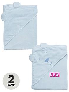 ladybird-baby-boys-2pk-bear-towels