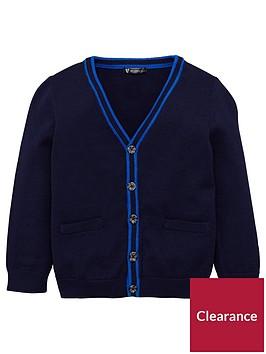 mini-v-by-very-boys-soft-knit-navy-cardigan