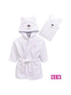ladybird-baby-unisex-towelling-bear-robe-and-mitt-set