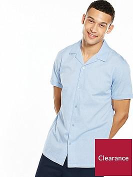 selected-homme-short-sleeve-cuban-shirt