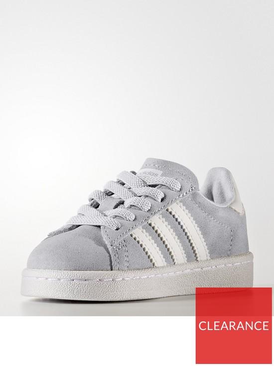 fe2267c1ad68 adidas Originals Campus Infant Trainer - Grey