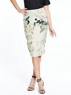 river-island-printed-grey-pencil-skirt