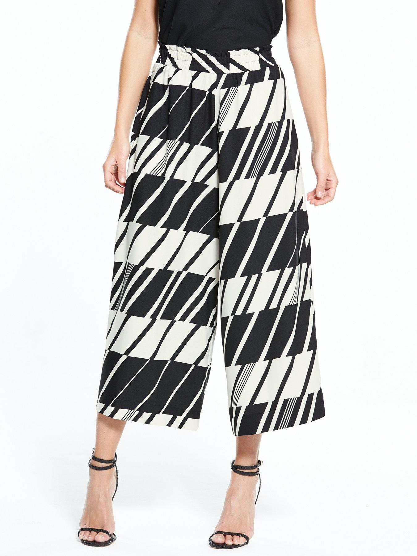River Island Printed Wide Cr