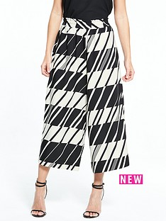 river-island-printed-wide-crop-trouser