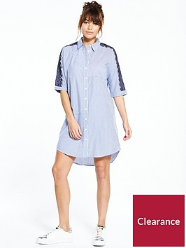river-island-blue-stripe-shirt-dress