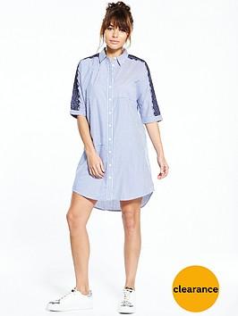 river-island-blue-stripe-shirt-dress