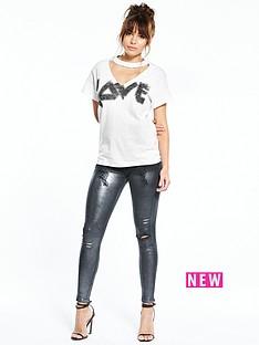 river-island-love-slash-tshirt