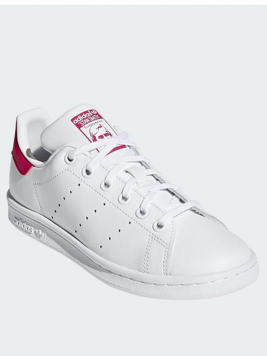 best quality f2904 581a8 Stan Smith Junior Trainer - White/Pink
