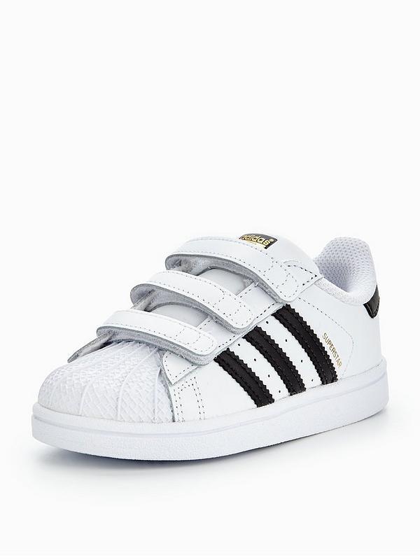 huge discount e9682 388d1 adidas Originals Superstar Infant Trainer - White