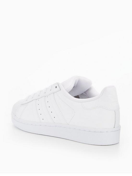 adidas Originals Superstar Junior Trainer - White  764c6ab3a