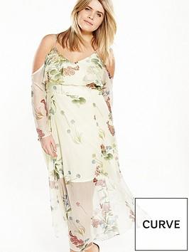 ri-plus-frill-maxi-dress