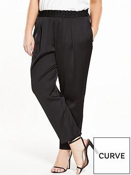 ri-plus-satin-tapered-trouser-black