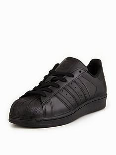 bd64a43fcad4d adidas Originals Superstar Junior Trainer - Black