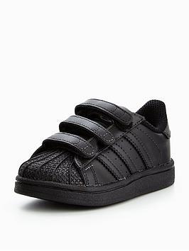 adidas-originals-superstar-cf-infant-trainer-blacknbsp