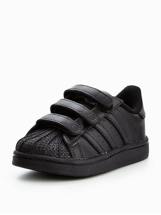 online store c02bc db1e9 Superstar CF Infant Trainer - Black