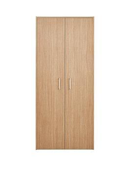 Barlow Ready Assembled 2 Door Wardrobe