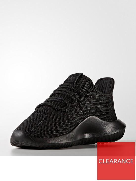 separation shoes 6192a 29c02 adidas Originals Tubular Shadow Junior Trainer - Black