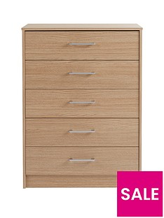 barlow-ready-assembled-5-drawer-chest