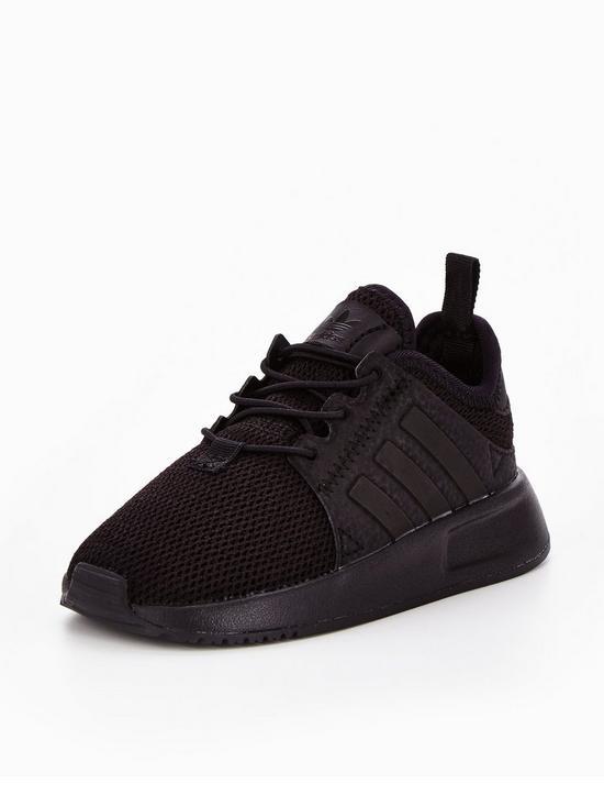 6f18709db88a08 adidas Originals X_PLR Infant Trainers - Black | very.co.uk