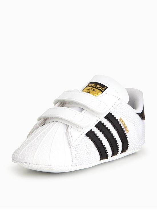 adidas superstar crib trainers