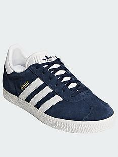 promo code 2f1fb 7a6c4 adidas Originals Gazelle Junior Trainer - BlueWhite