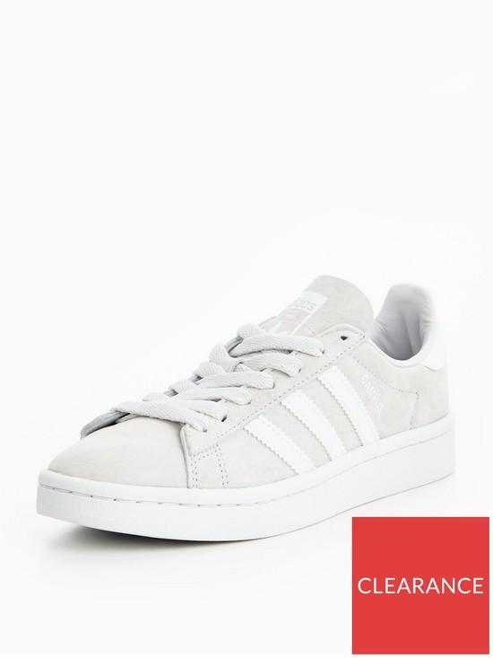 0e5e44341c4a adidas Originals Campus Junior Trainer - Grey