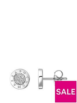 thomas-sabo-thomas-sabo-sterling-silver-signature-diamond-set-logo-earrings