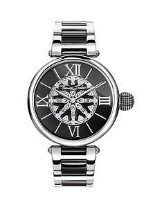 thomas-sabo-thomas-sabo-karma-women039s-watch-black-dial-two-tone-stainless-steel-bracelet