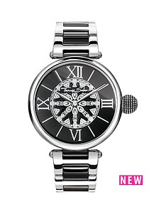 thomas-sabo-thomas-sabo-karma-women039s-watch-black-dial-two-tone-stainless-steel-bracelet