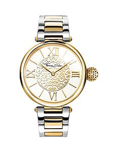 thomas-sabo-karma-womens-watch-white-dial-two-tone-stainless-steel-braceletnbspadd-item-ktjq4-to-basket-to-receive-free-bracelet-with-purchase-for-limited-time-only