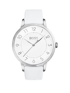 hugo-boss-black-hugo-boss-black-eclipse-white-dial-white-leather-strap-ladeis-watch