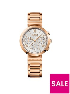 hugo-boss-black-hugo-boss-black-classic-white-chronograph-dial-gold-tone-bracelet-ladies-watch