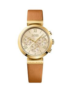 hugo-boss-black-hugo-boss-black-classic-sport-multi-dial-tan-leather-strap-ladies-watch