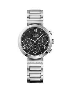boss-hugo-boss-black-classic-sport-black-multi-dial-stainless-steel-bracelet-ladies-watch