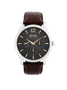 hugo-boss-black-hugo-boss-black-commander-grey-chronogrpah-dial-brown-leather-strap-mens-watch