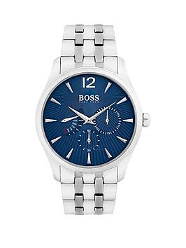 boss-commander-blue-chronograph-dial-stainless-steel-bracelet-mens-watch