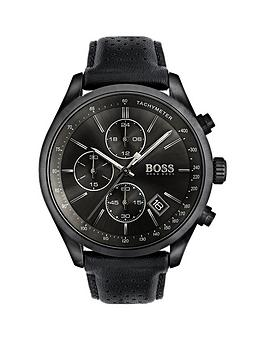 boss-hugo-boss-black-grand-prix-black-chronograph-dial-black-leather-strap-mens-watch