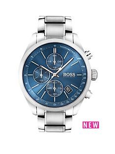 hugo-boss-hugo-boss-black-grand-prix-blue-chronograph-dial-stainless-steel-bracelet-mens-watch