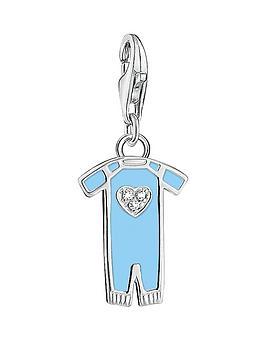 thomas-sabo-thomas-sabo-sterling-silver-charm-club-blue-enamel-baby-boy-suit-charm