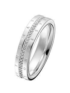 thomas-sabo-thomas-sabo-sterling-silver-diamond-set-signature-logo-ring-band
